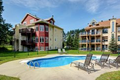 OLD VILLAGE | Condo with pool on property for rent in Mont-Tremblant